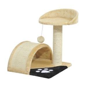 Vista del modelo de rascador para gatos PawHut