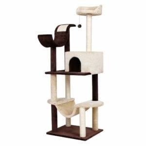 Modelo de rascador para gatos de 154cm