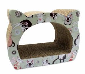Rascador para gatos de cartón