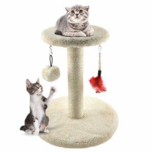 Modelo de rascador para gatitos