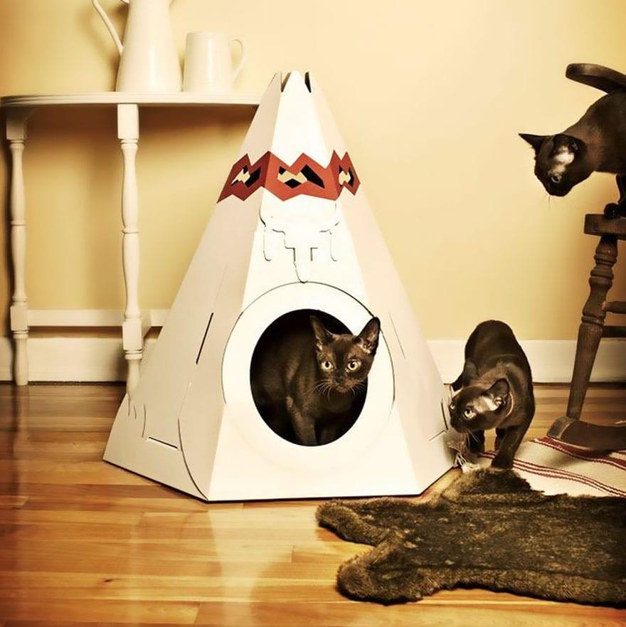 Tienda de juguete para gatos