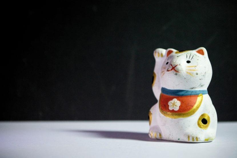 El Maneki Neko es el gato de la suerte en Japón