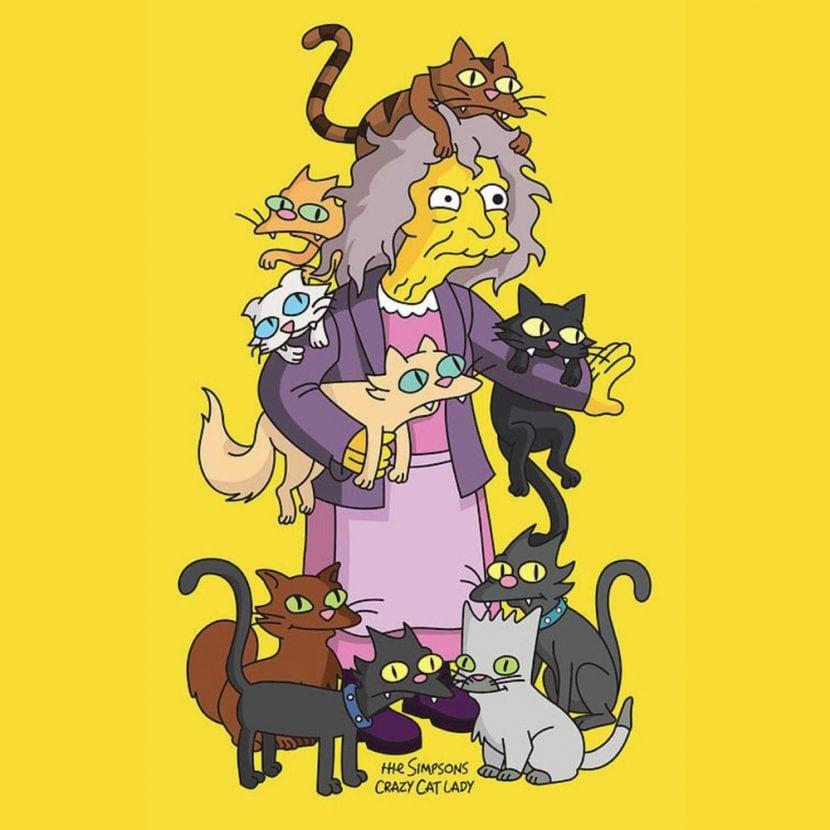 El personaje de La loca de los gatos