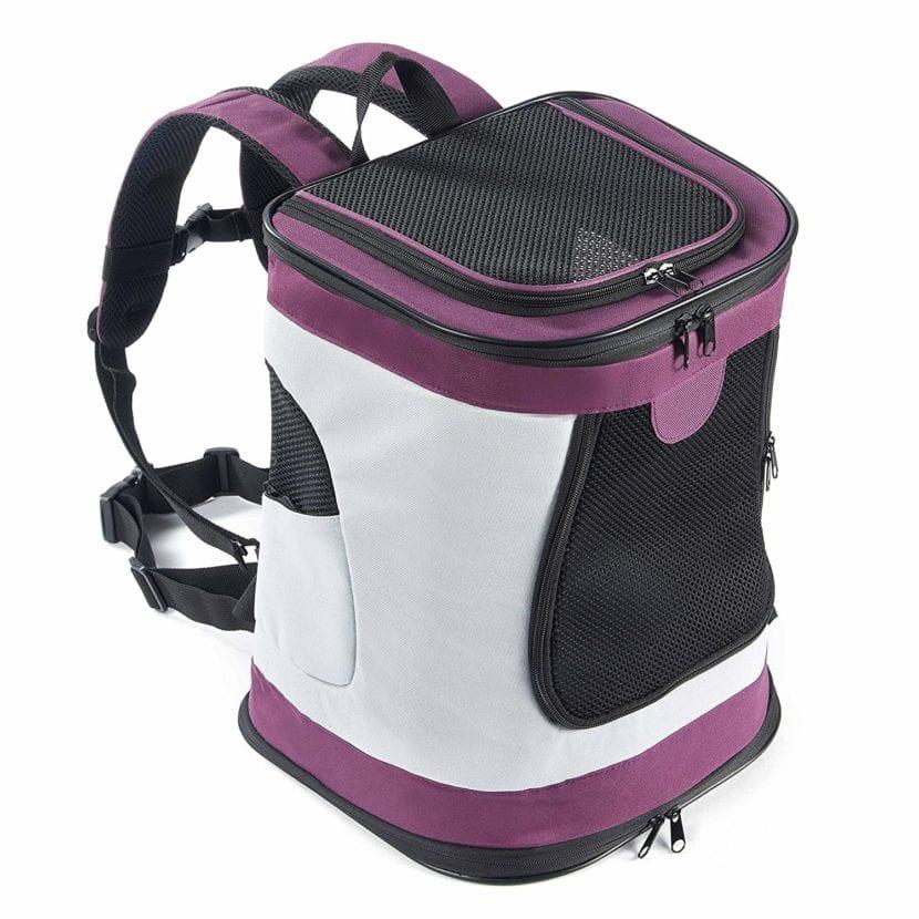 Imagen de la mochila de viaje para gatos