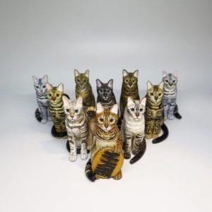 Miniaturas de gatos