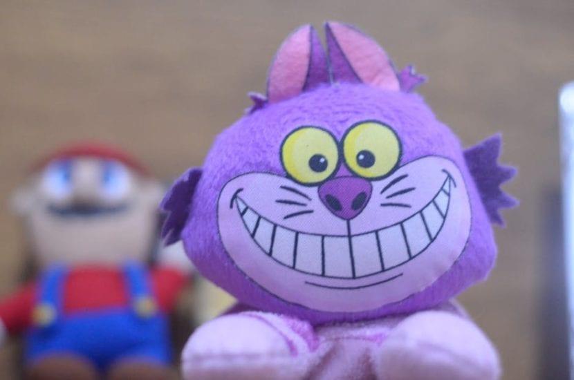 Cheshire es un gato animado muy popular
