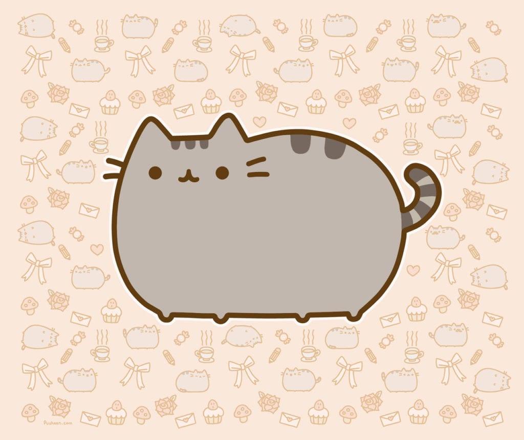 Dibujo del gatito Pusheen