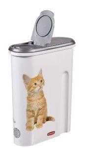 Contenedor de pienso para gatos