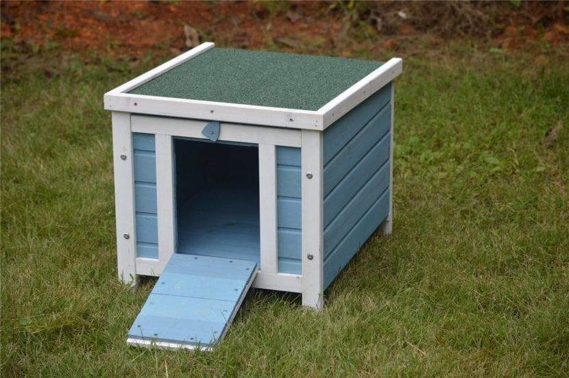 Modelo Bunny Business, de casitas para gatos de exterior