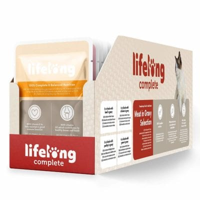 Lifelong, carne en salsa para gatos
