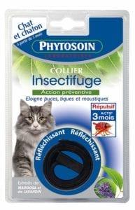 Modelo del Phytosoijn de collar para gatos