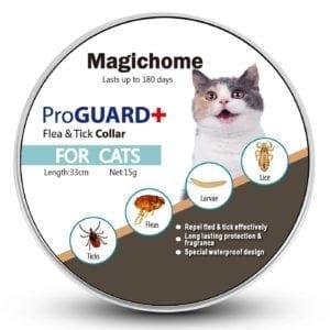 Collar de la marca MagicHome para eliminar pulgas