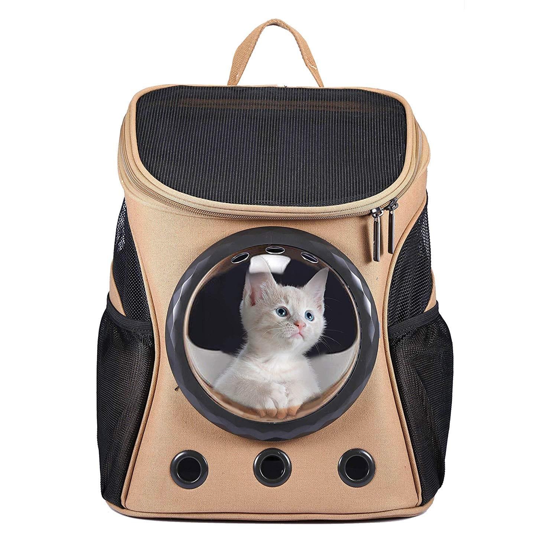 Una mochila para llevar gatos