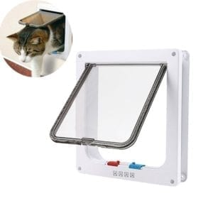 Modelo de puerta para gatos