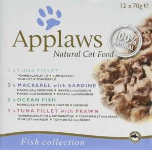 Pack de carne de pescado para gatos