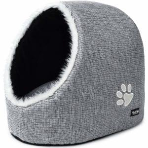 Modelo de casita o cueva para gatos