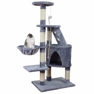 Modelo de rascador grande para gatos